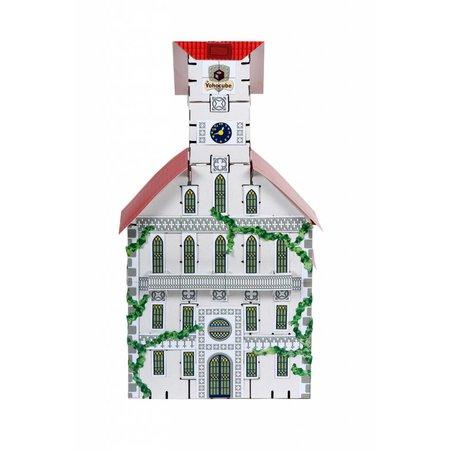 Yohocube Kartonnen bouwdozen, bouw een gemeentehuis K-26