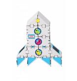 Yohocube Bouw met kartonnen bouwdoosjes een Raket naar Mars K-14