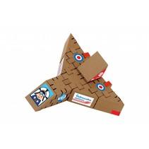 Kartonnen bouwdozen, Airplane
