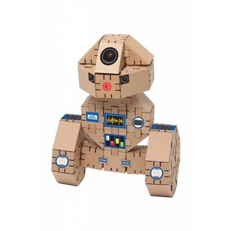 Yohocube Bouw met kartonnen bouwdoosjes een robot - yohobot
