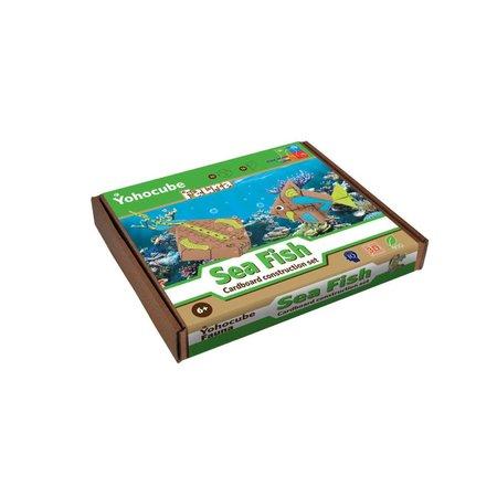Yohocube Bouw met kartonnen bouwdoosjes zeevissen