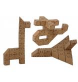 Yohocube Bouw met kartonnen bouwdoosjes tientallen modellen