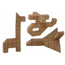 Kartonnen bouwdozen, Basisset klein