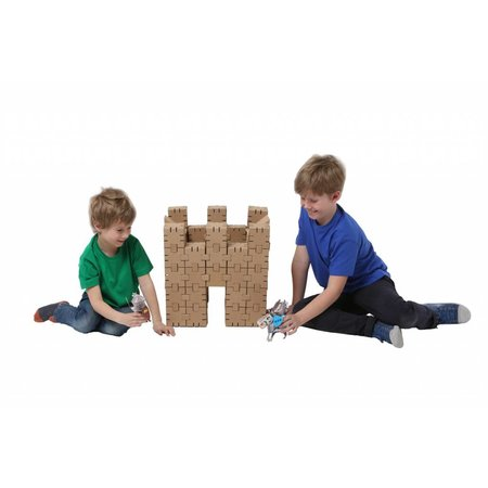 Yohocube Bouw met kartonnen bouwdoosjes veel verschillende modellen