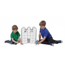 Kartonnen bouwdozen, witte Basisset medium
