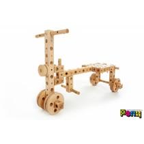 Houten constructie bouwdoos mini