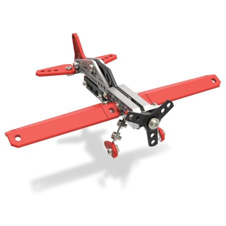 Meccano Bouwset stuntvliegtuig - 2modellen