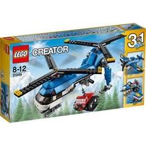 Drie in een bouwset Helikopter 31049