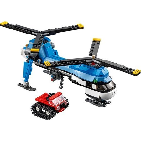 Lego Creator Drie in een bouwset Helikopter 31049