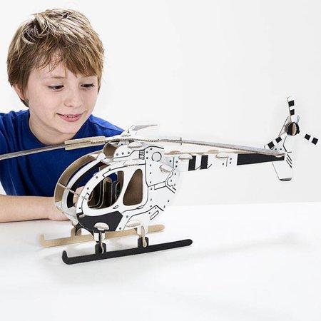 ToDo Bouw een helikopter uit karton