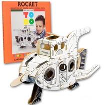 Kartonnen Raket