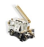 ToDo Bouw een ladderwagen uit karton