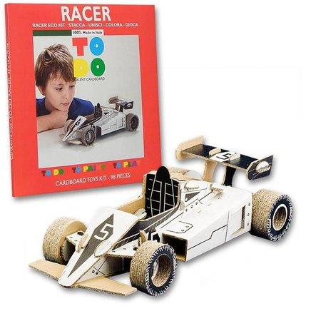 ToDo Bouw een race auto uit karton
