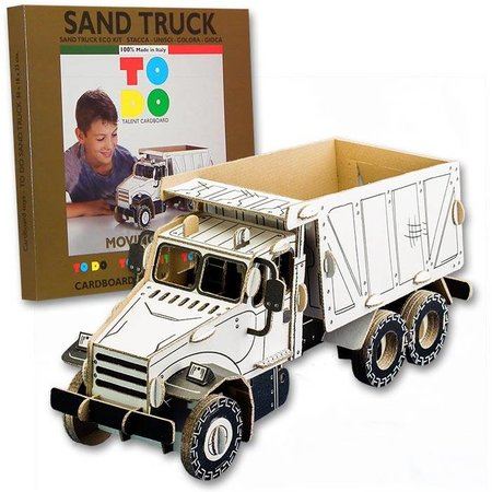 ToDo Bouw een kipper vrachtwagen uit karton