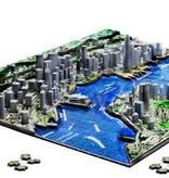 4D cityscape 4D puzzel Hong Kong