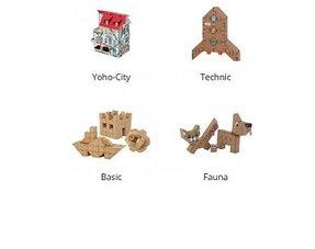 Cardboard constructies