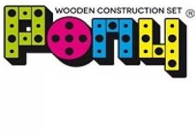 Pony houten constructie speelgoed