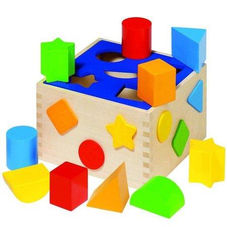 Goki Houten sorteerbox 10 delig