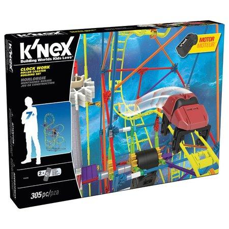 K'NEX Knex Clock Work Roller Coaster