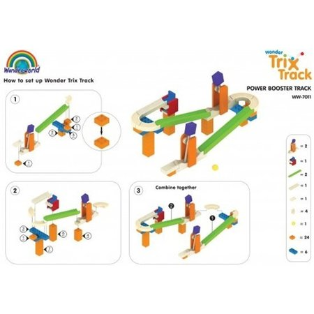 Wonderworld Trix Track Knikkerbaan Wonder Bridge  ww-7016