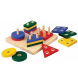 Plan Toys Plan Toys Houten Meetkundige Sorteerplank