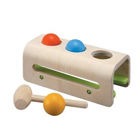 Plan Toys Plan Toys Houten hamer bal