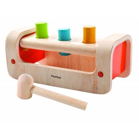 Plan Toys Plan Toys Houten hamer bank, leerspel