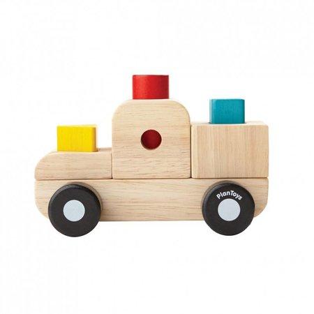 Plan Toys Plan Toys Houten sorteerpuzzel, vrachtwagen