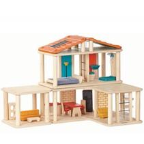 Houten poppenhuis, creative play