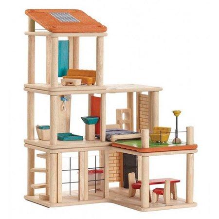 Plan Toys Plan Toys Houten poppenhuis, creative play