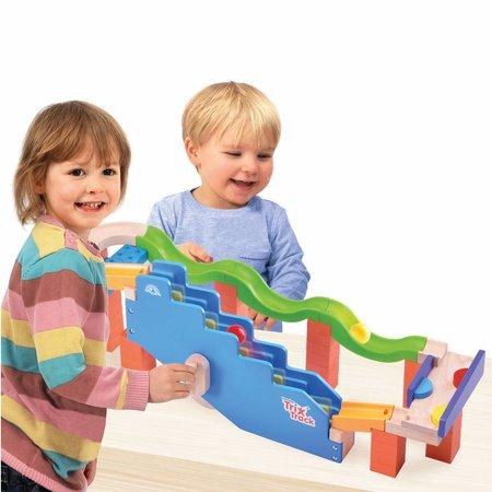 Wonderworld Trix Track Knikkerbaan Up stairs Track ww-7009