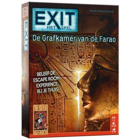 999Games Exit- De grafkamer van de farao-Bordspel