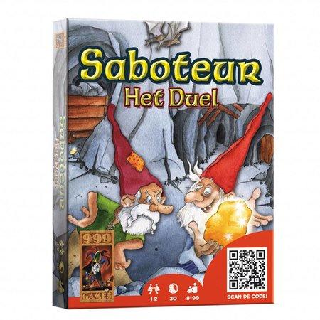 999Games Saboteur, het duel - kaartspel