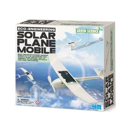 4M Kidzlabs Green Science solar vliegtuig