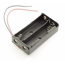 Batterijhouder 2 x AA batterij