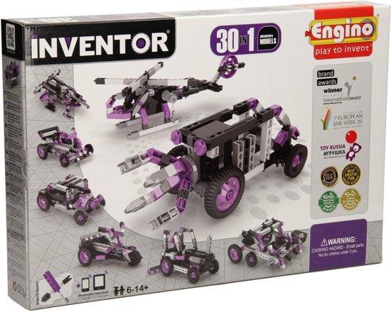 Engino Engino Inventor 30 adventure modellen