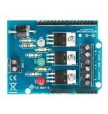 Arduino RGB SHIELD sturing, 3 dimkanalen