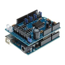 Motor en power shield voor Arduino