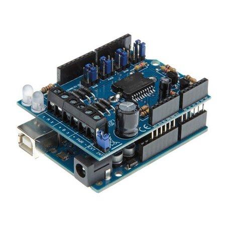 Arduino Motor en power shield voor Arduino