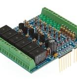 Arduino Input/output board shield voor Arduino