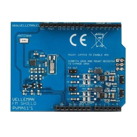 Arduino FM Radio Shield voor Arduino
