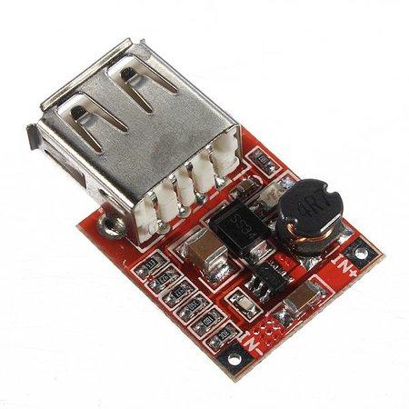 Velleman DC-DC boost module naar USB 5V