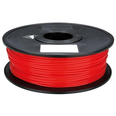Velleman 3D print draad ABS 1.75mm rood 750 gr