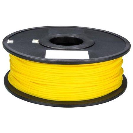 Velleman 3D print draad PLA 1.75mm geel 0.75kg