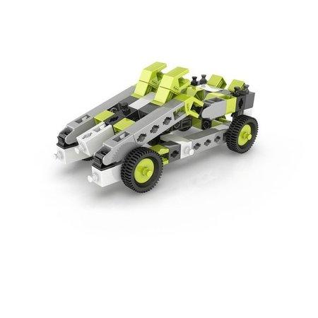 Engino Inventor 8 modellen auto's