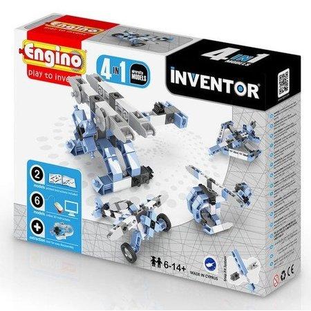 Engino Inventor 4 modellen vliegtuigen