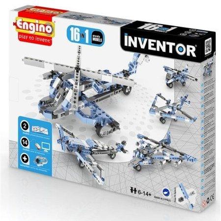 Engino Inventor 16 modellen vliegtuigen