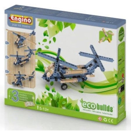 Engino ECO helicopters 3 modellen