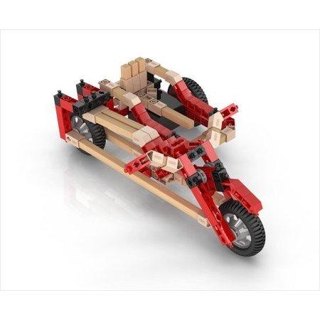 Engino ECO gemotoriseerde Racewagens 3 modellen