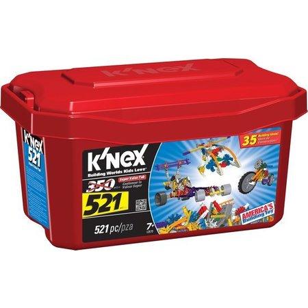 K'NEX Bouwset met 521 onderdelen 35 modellen
